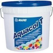 AQUACOL T , вододисперсионный клей для текстильных напольных и настенных покрытия , натурального линолеума, 12 кг фото