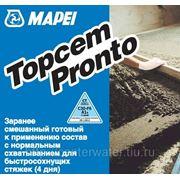 TOPCEM PRONTO ,заранее смешанный готовый к применению состав с нормальным схватыванием для быстросохнущих стяжек (4 дня), 25 кг фото