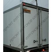 Ремонт заднего портала-рамки фургона изотермического фото