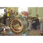 Перемотка электродвигателей и генераторов фото