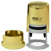 Изготовление печатей COLOP R40 Gold фото