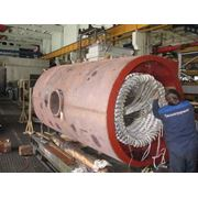 Капитальный ремонт электрических машин (электродвигателей генераторов) переменного тока фото