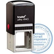 Изготовление печатей Trodat 4940 d-40 фото