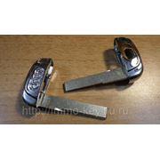 Заготовка дверного ключа для Смарт ключа Ауди Q5, A4L фото