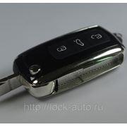 Ключ VW Phaeton 3 кнопки фото