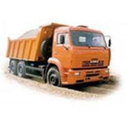 Доставка щебня автомобильным транспортом в черте города Тюмень фото