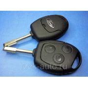 Ключ Ford с 3 кнопки old фото