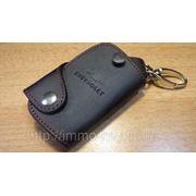 Кожаный чехольчик для ключа Шевроле фото