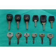 Изготовление ключей для отечественных авто фото