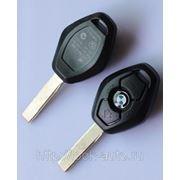 BMW ключ для авто 2000-2010 ромбообразной формы 3 кнопки фото