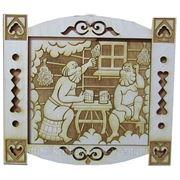 Табличка для бани и сауны