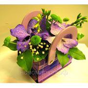 """Доставка цветов.Композиция """"Загадочные Орхидеи"""" фото"""