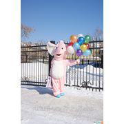 Оригинальный подарок! Доставка цветов Веселым Розовым Слоном! Оренбург фото