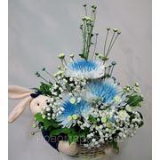 """Доставка цветов.Композиция """"Привет от твоего Зайки"""". фото"""