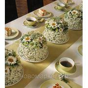 Доставка цветов.Торт из цветов. фото