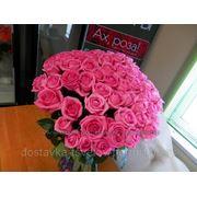 """Букет из 51 розы""""Ревивал"""" - 3400 руб.(с оформлением) фото"""