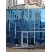 Тонирование стеклянных фасадов фото