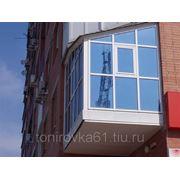 Тонирование оконных стекол, балконов,офисов фото
