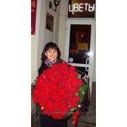 Букет из 101 розы фото