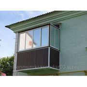 Тонирование лоджий, балконов фото