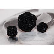 """Кольцо и серьги """"Розы"""" фото"""