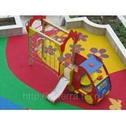 Полы для детской площадки фото