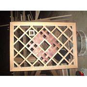 Декоротивние решетки из лиственницы фото