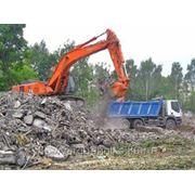 Вывезу строительный мусор фото