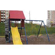 Детский игровой комплекс «Задний двор» фото