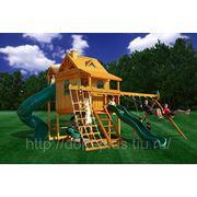 Детский игровой комплекс «Горный дом Deluxe» фото