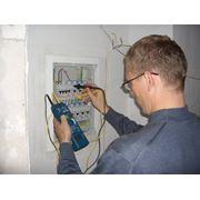 Измерение сопротивления изоляции кабелей фото
