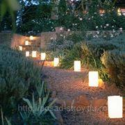 Ландшафтное освещение и подсветка фото