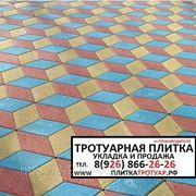 Укладка тротуарной плитки (брусчатки) в Чехове Чеховский район фото