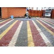 Укладка тротуарной плитки цена в Московской области фото