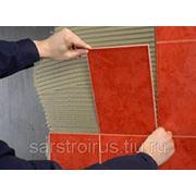Монтаж плитки(керамика, брусчатка, гранит) фото
