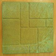 Тротуарная плитка 35mm (Цвет Желтый) фото