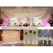 Свадебное оформление (декорирование, флористика) фото