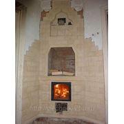 Ремонт печей, каминов, дымовых каналов, труб фото