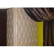 Каретная стяжка - декор колонны фото