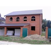 Строительство домов коттеджей бань фото