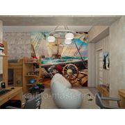 Детская комната в пиратском стиле фото
