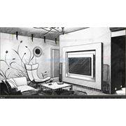 Дизайн интерьера-минимальный фото