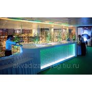 Воздушно-пузырьковые стойки-рецепции для баров, ресторанов, медучреждений фото
