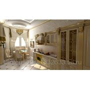 Дизайн интерьера классической кухни фото