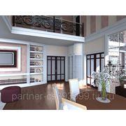 Дизайн - проект коттеджей и дизайн - проект индивидуальных жилых домов.