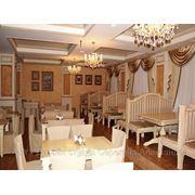 Дизайн интерьеров ресторанов и кафе в Новосибирске фото