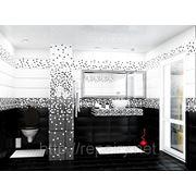 Дизайн-проект ванной комнаты фото