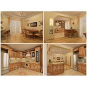 Дизайн интерьера кухни объединенной со столовой фото