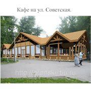Проектирование торговых павильонов, кафе фото