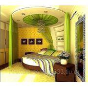 Дизайн интерьера с круглой кроватью фото